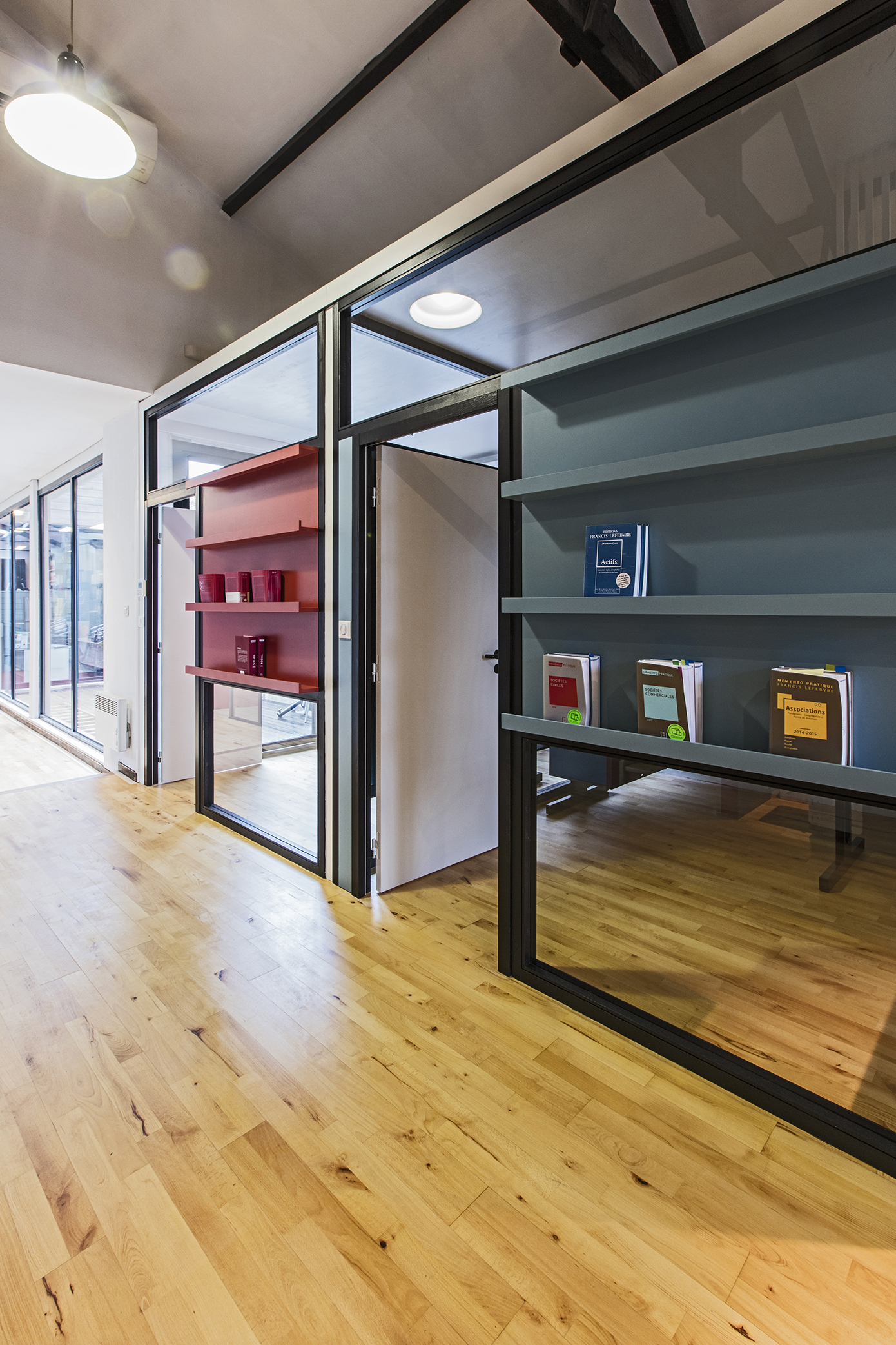 LalaArchitectes-rénovation-bureaux-façade vitrée