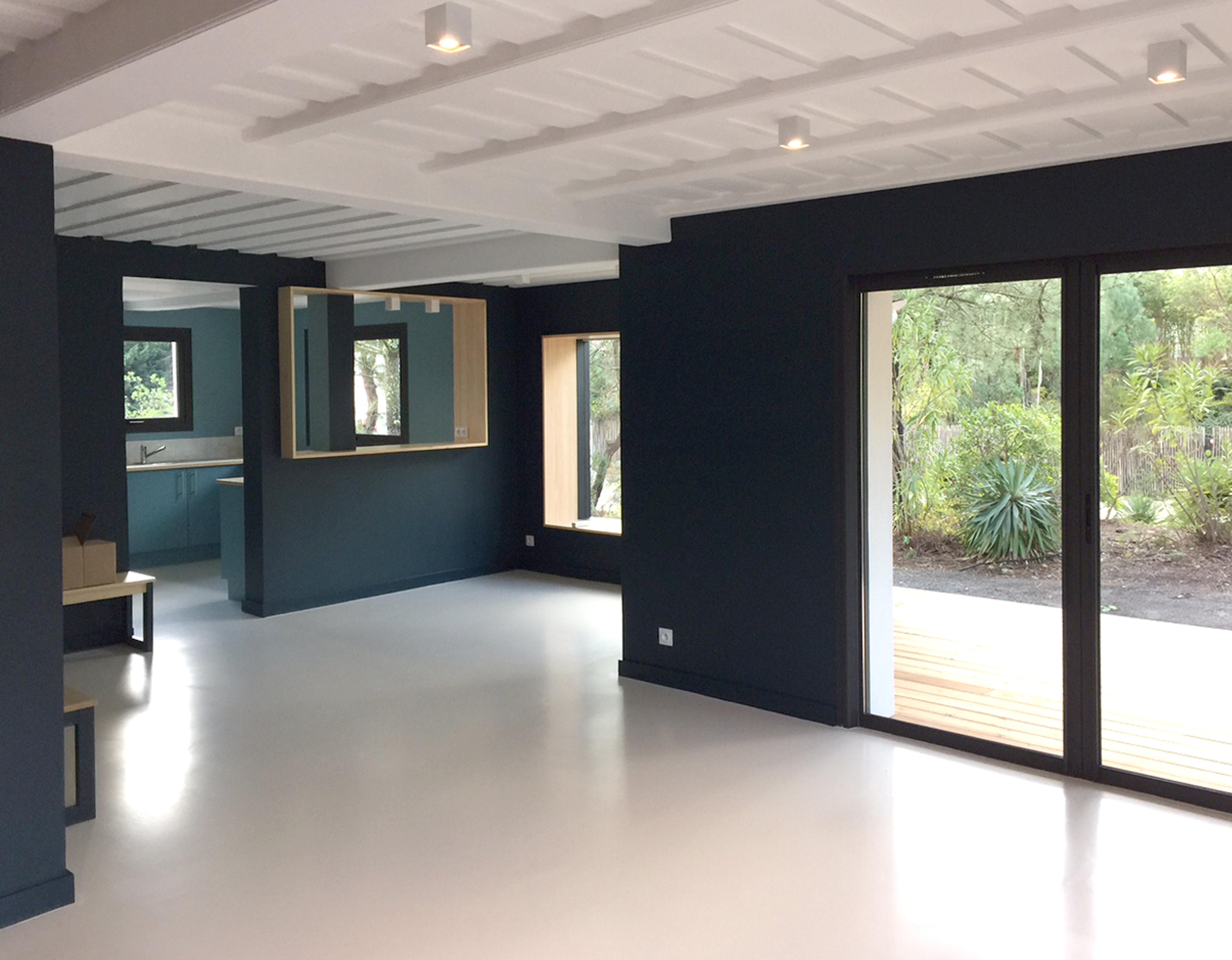 Lala Architectes-Rénovation maison-Bassin d'Arcachon-Salle à manger