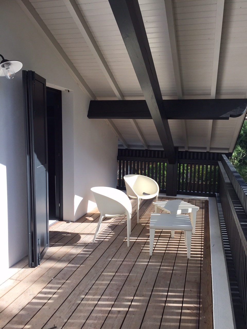 Lala Architectes-Rénovation Maison-Bassin d'Arcachon-Balcon
