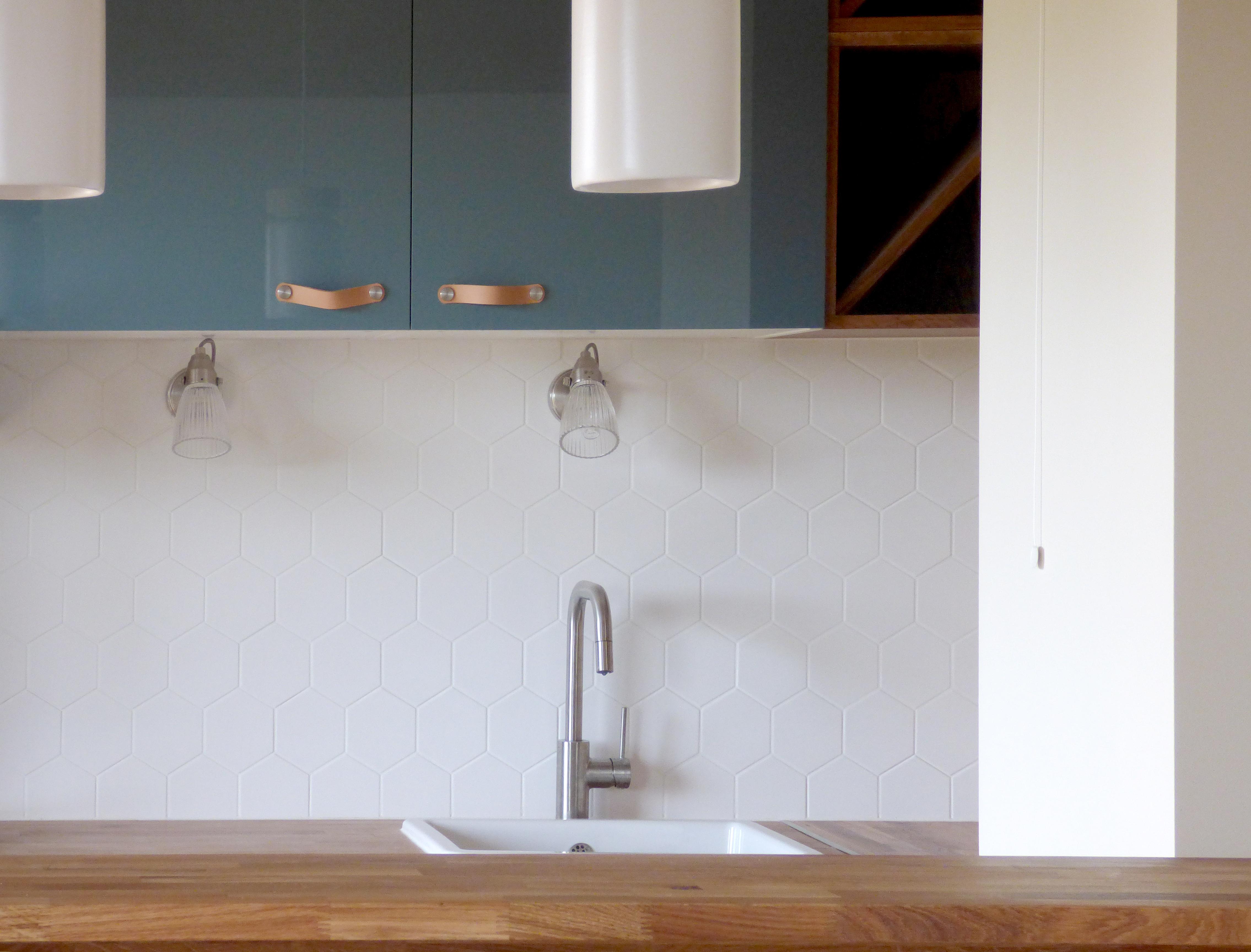 Lala Architectes_Renovation_Appartement_Crédence Equipe Ceramicas_Cuisine