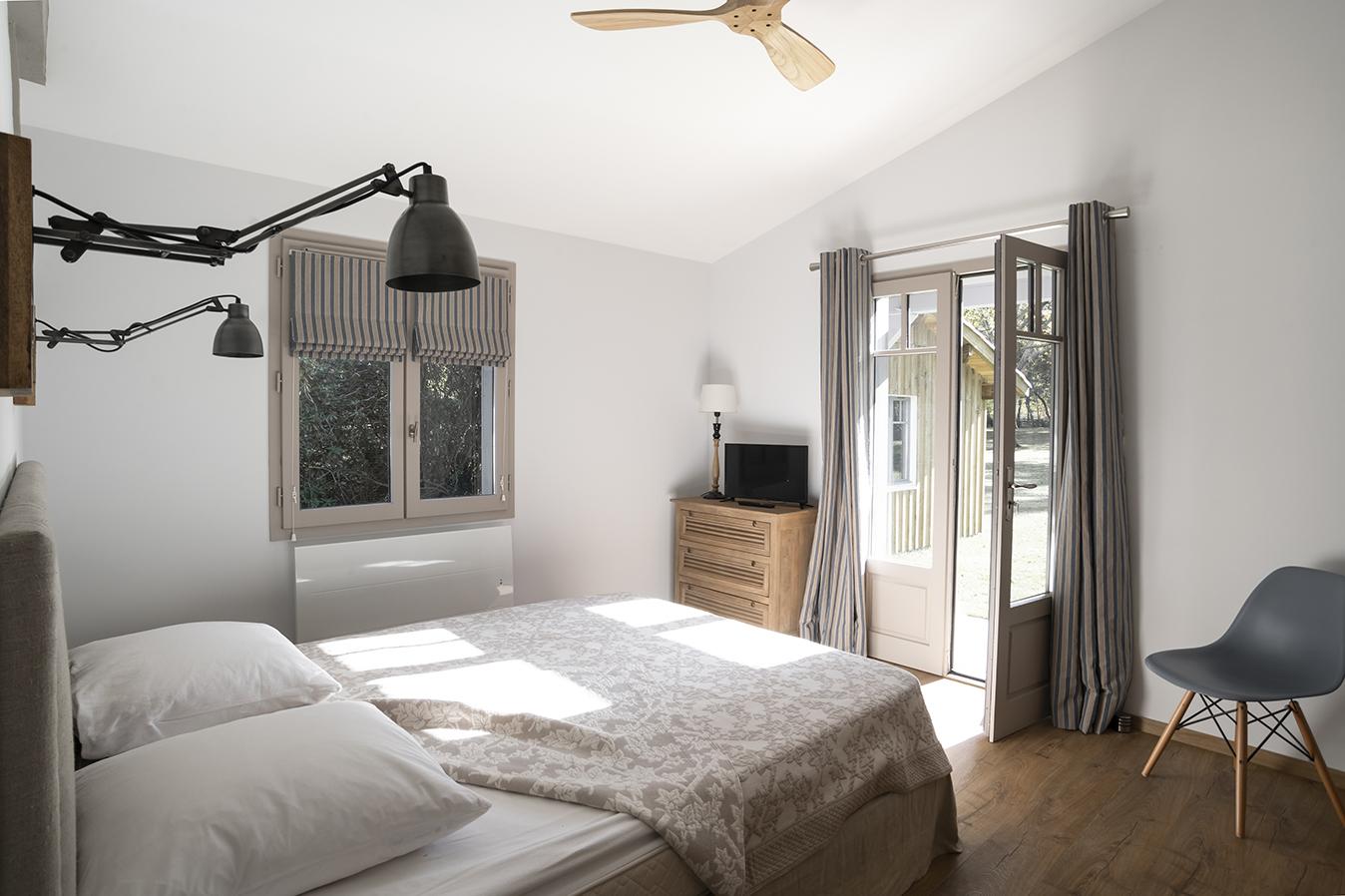 Rénovation_maison landes_lala architectes_Chambre