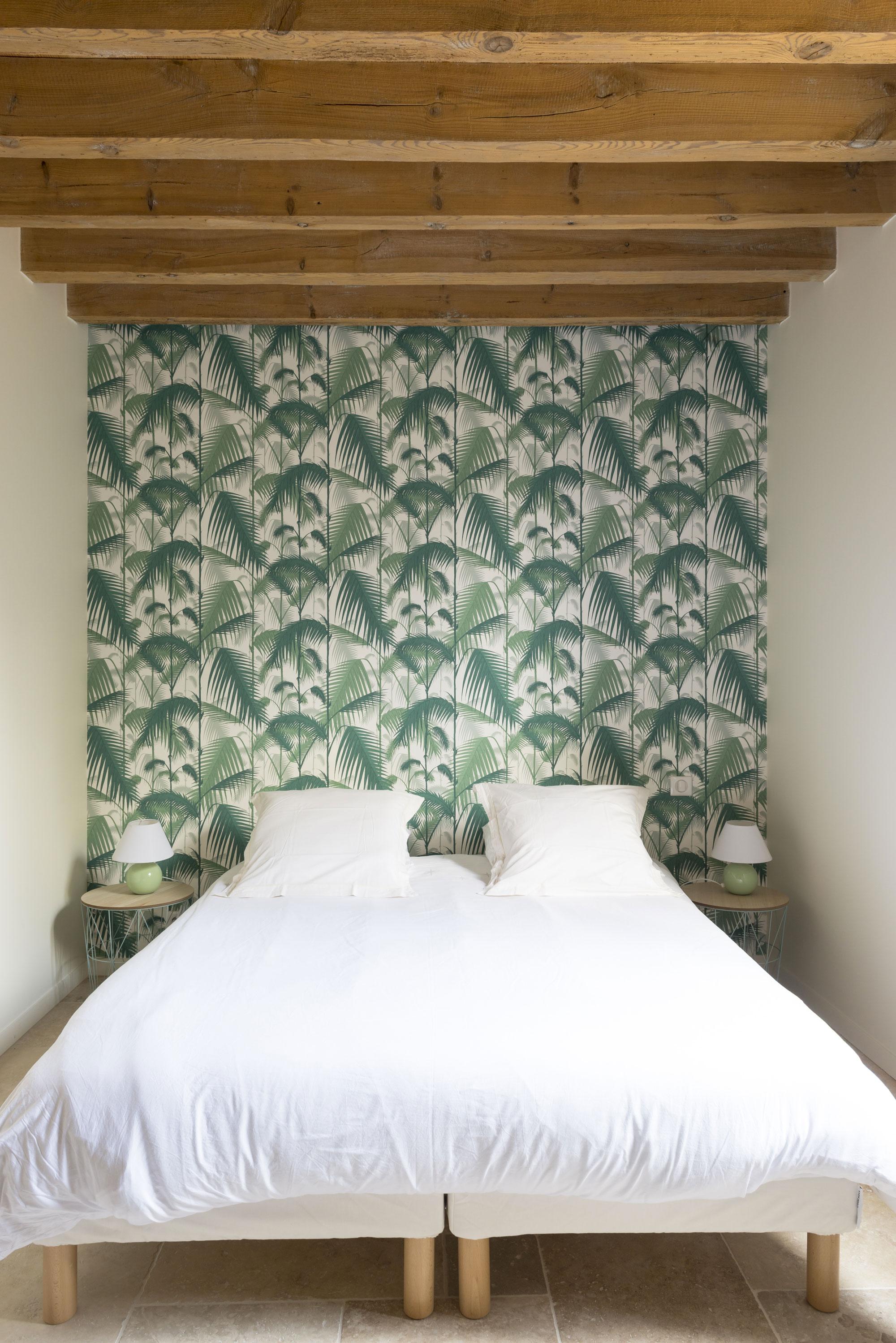Lala Architectes-landes-renovation-papier peint-chambre