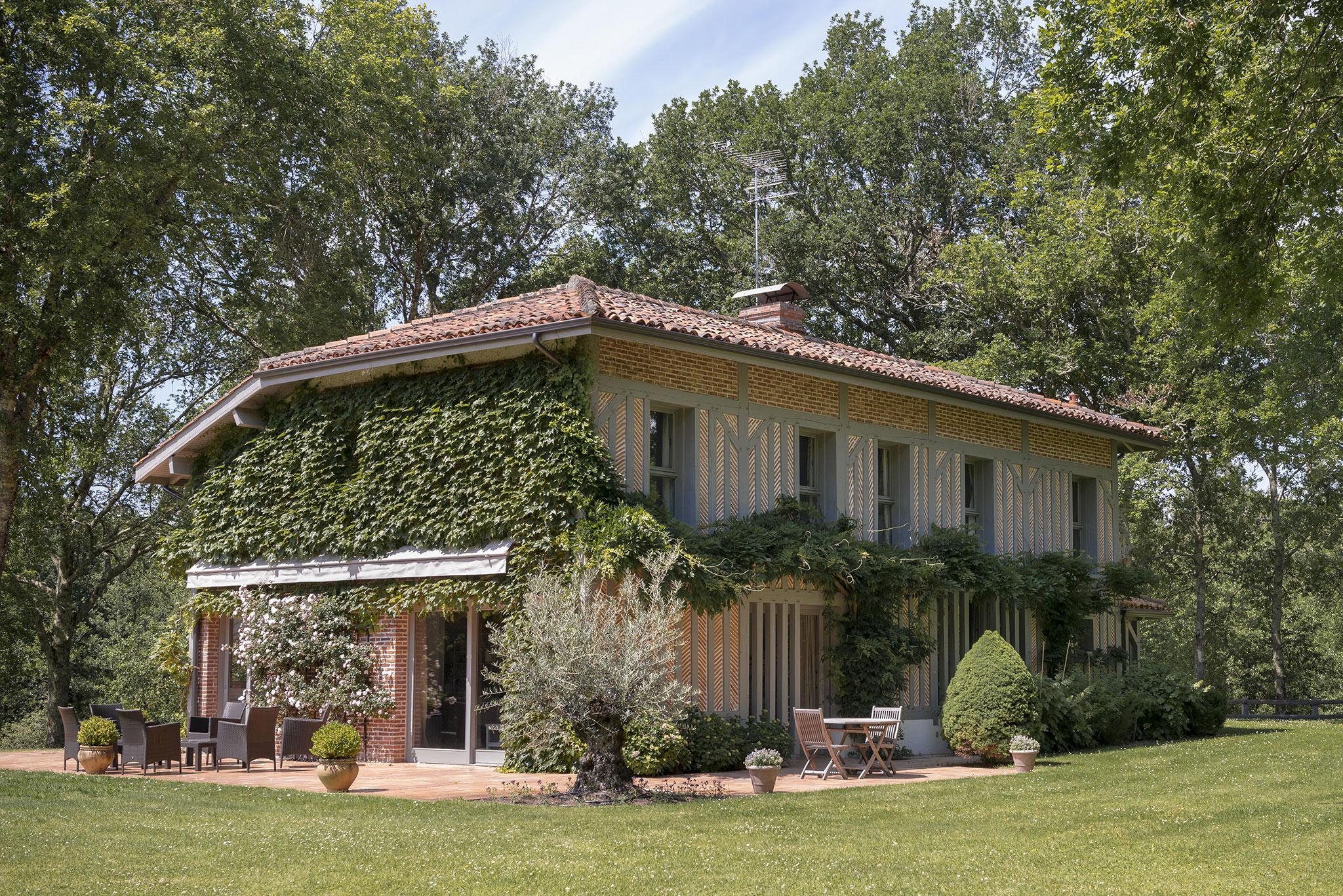 maison architecte landes