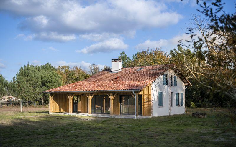 Rénovation_maison landes_lala architectes_maison de résigner_Aprés Travaux
