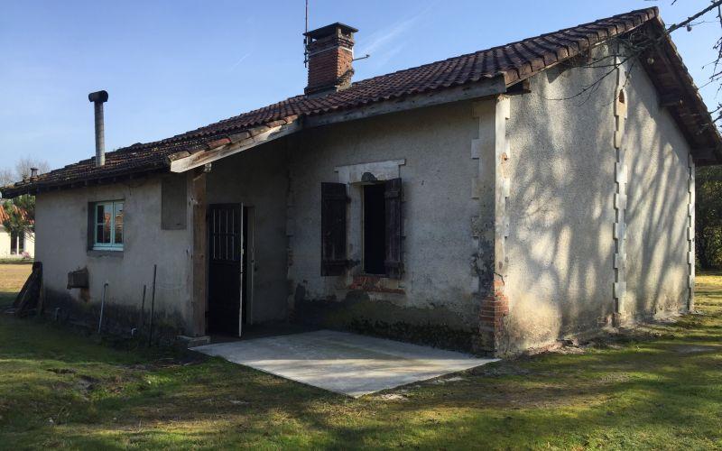 Rénovation_maison landes_lala architectes_maison de résigner_Avant travaux