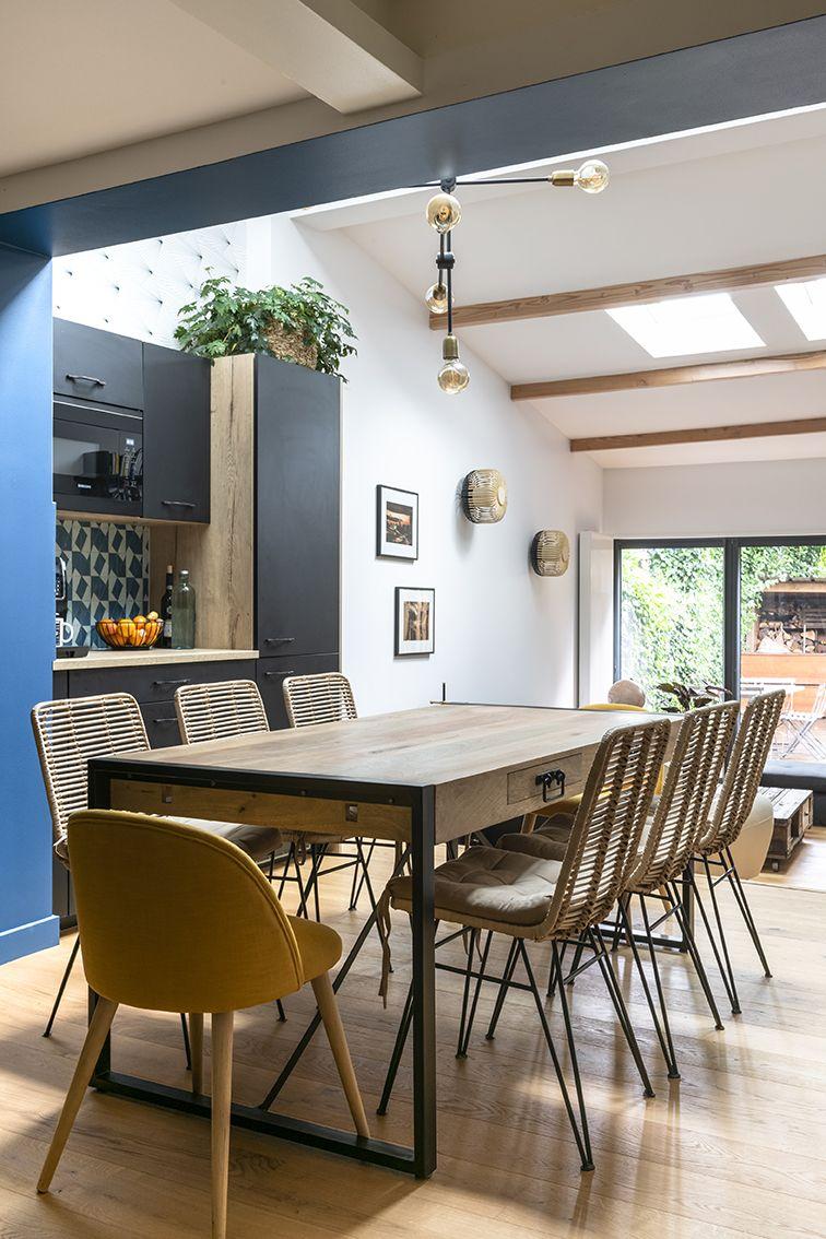 Rénovation_Echoppe_Lala-architectes_Bordeaux_Cuisine ouverte_lumineuse