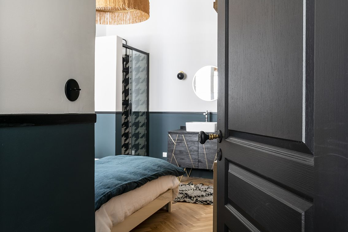 Rénovation_appartement_lala-architectes_bordeaux_Chambre_suspension parasol Honoré