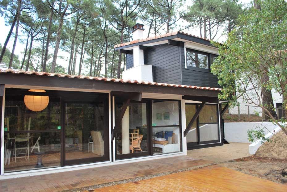 Latest la maison girolle lala architectes bordeaux et dans for Cout architecte maison